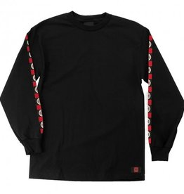 Santa Cruz Independent Banner L/S T-Shirt - Black