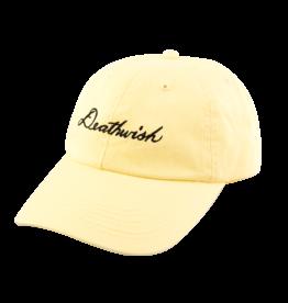 Death Wish Deathwish Skateboards Script Canary Dad Hat