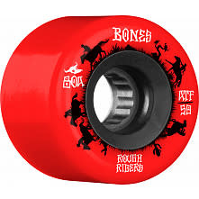 Bones Bones ATF Rough Rider Wheels 59mm 80A Wranglers Red (set of 4)