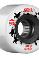 Bones Bones ATF Rough Rider Wheels 59mm 80A Wranglers White (set of 4)