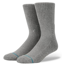 Stance Stance Icon Men's Socks - Heather Grey - Large (9-12)