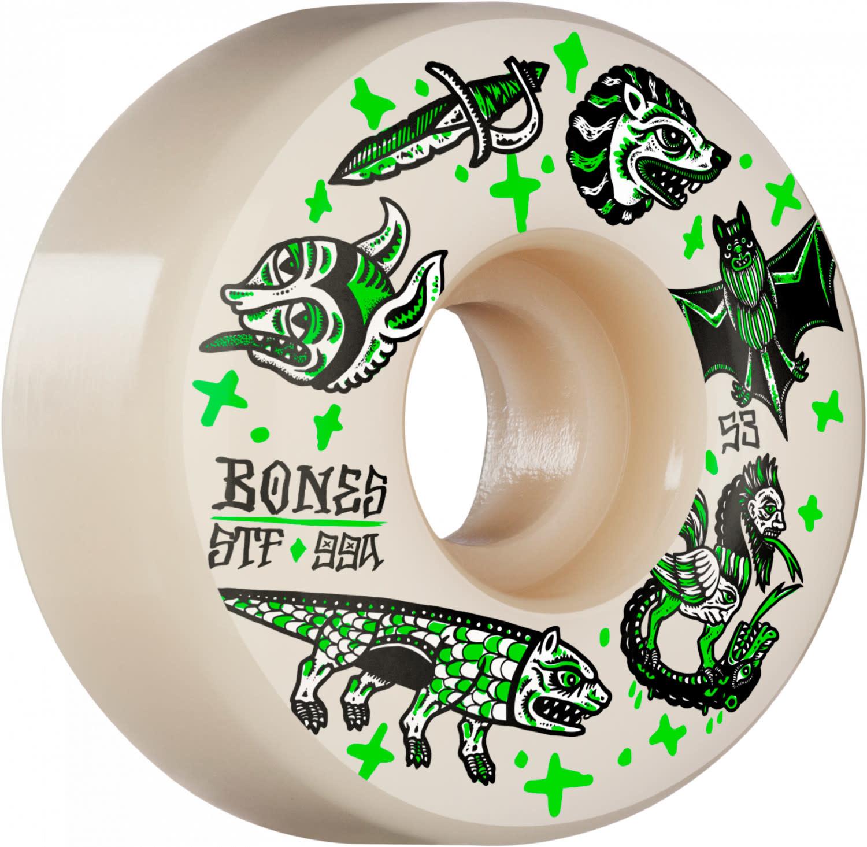 Bones Bones STF Dark Knights Skateboard Wheels V1 Standard 53mm 99A