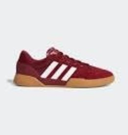 Adidas Adidas City Cup Burgundy/White/Gum Men's Skateboard Shoes -