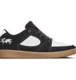 eS eS x Menikmati Accel Slim Skate Shoes - Black/White/Gum