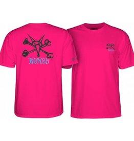 Powell Peralta Powell Peralta Rat Bones YOUTH T-shirt - Hot Pink
