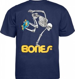 Powell Peralta Powell Peralta Skateboarding Skeleton YOUTH T-shirt - Navy