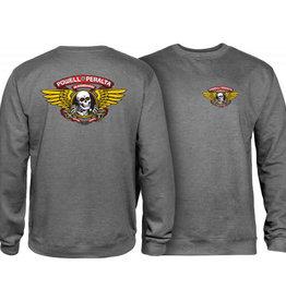 Powell Peralta Powell Peralta Winged Ripper Sweatshirt - Gunmetal -