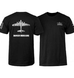 Powell Peralta Powell Peralta Bones Brigade Bomber T-shirt - Black