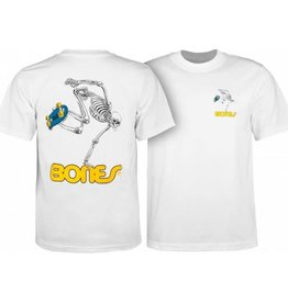 Powell Peralta Powell Peralta Skate Skeleton YOUTH T-shirt - White