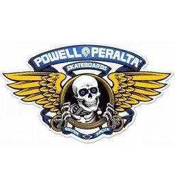 """Powell Peralta Powell Peralta Ripper Sticker - 5"""" Blue"""