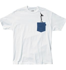 Lakai Lakai Blunt Pocket T-Shirt - White