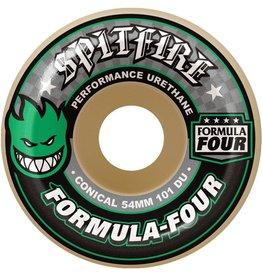 Spitfire Wheels Spitfire Wheels - 54mm 101a - Formula Four Conical - Green