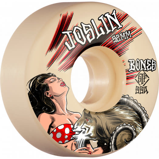 Bones Bones STF V3 Slims Joslin Goat Wheels 52mm 99a (set of 4)