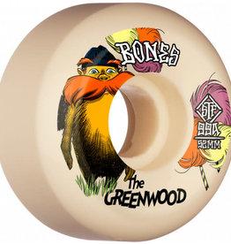 Bones Bones STF V5 Sidecut The Greenwood Wheels  52mm 99a (set of 4)