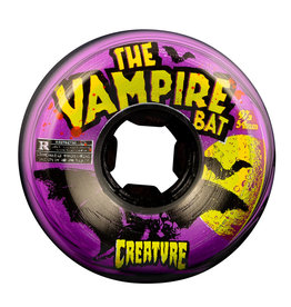 OJ Wheels OJ Wheels Vampire Bat Bloodsuckers Black/Purple Wheels 54mm 97a (set of 4)