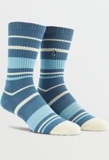 Volcom Volcom Mens Vibes Socks (9-12) - Horizon Blue