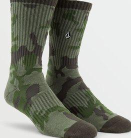 Volcom Volcom Mens Vibes Socks (9-12) - Army Camo
