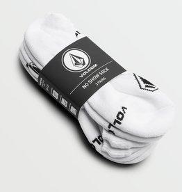 Volcom Volcom Mens No Show Socks (9-12) - White