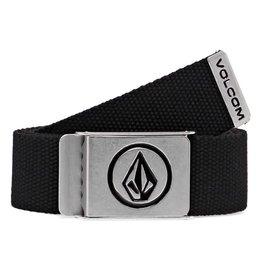 Volcom Volcom Circle Web Belt - Black