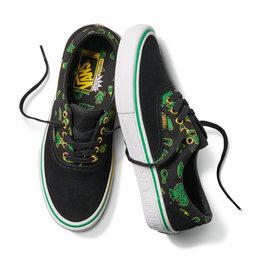 Vans Vans x Shake Junt Era Pro Skate Shoes - Black/Green/White -