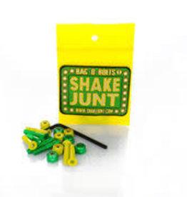 """Shake Junt Shake Junt Green Yellow Hardware 1"""" Phillips"""
