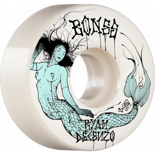 Bones Bones STF V2 Decenzo Mermaid Wheels  52mm 103a (set of 4)