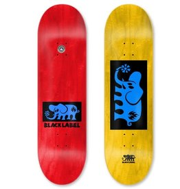 Black Label Black Label Elephant Block Skateboard Deck -