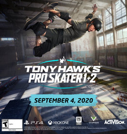 Tony Hawk's Pro Skater 1 & 2 Remastered Game for PS4