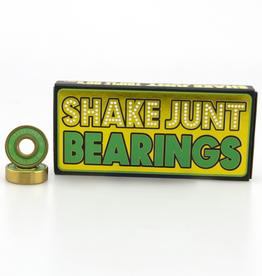 Shake Junt Shake Junt Triple OG's Abec-7 Bearings - Gold/Green