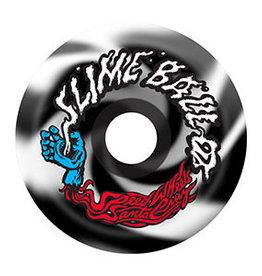 OJ Wheels Slime Balls Vomits Black/White Swirl Wheels 60mm 97a (Set of 4)