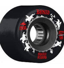 Bones Bones ATF Rough Rider Wheels 59mm 80A Wranglers Black (set of 4)