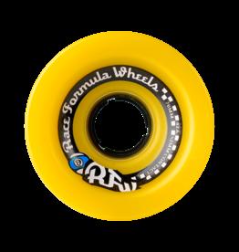 Sector Nine Skateboards Sector 9 Skateboards Race Formula Wheels Yellow 70mm 78a (Set of 4)