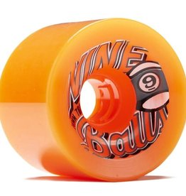 Sector Nine Skateboards Sector 9 Skateboards Nineballs Wheels Orange 74mm 78a (Set of 4)