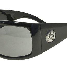 Black Flys Black Flys Fly Coca Sunglasses - Shiny Black w/ Smoke