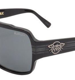 Black Flys Black Flys Flycoholic Sunglasses - Shiny Black/ Smoked CR39 Lens
