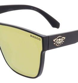 Black Flys Black Flys Mono Fly Sunglasses - Matte Black W/ Gold Lens