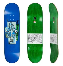 "Polar Polar Skateboard Deck Brady Skyscraper - 8"" x 31.875"""