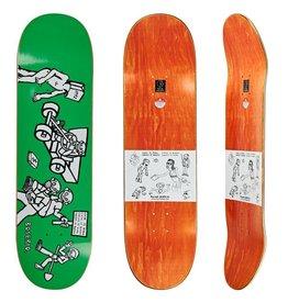 """Polar Polar Skateboard Deck Nick Boserio Cash is Queen - 8.375"""" x 32"""""""
