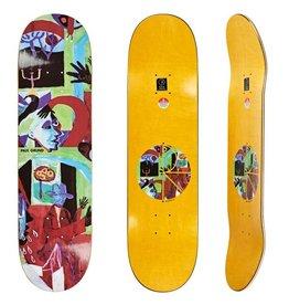 "Polar Polar Skateboard Deck Paul Grund Moth House - 8.375"" x 32"""