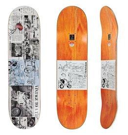 "Polar Polar Skateboard Deck Ron Chatman Model T - 8.5"" x 32.125"""