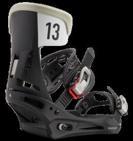burton Snowboards 2020/21 Burton Mission Bindings - Black/Grey Wing -