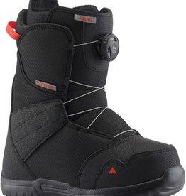 burton Snowboards 2020/21 Burton Zipline Boa Youth Boots - Black