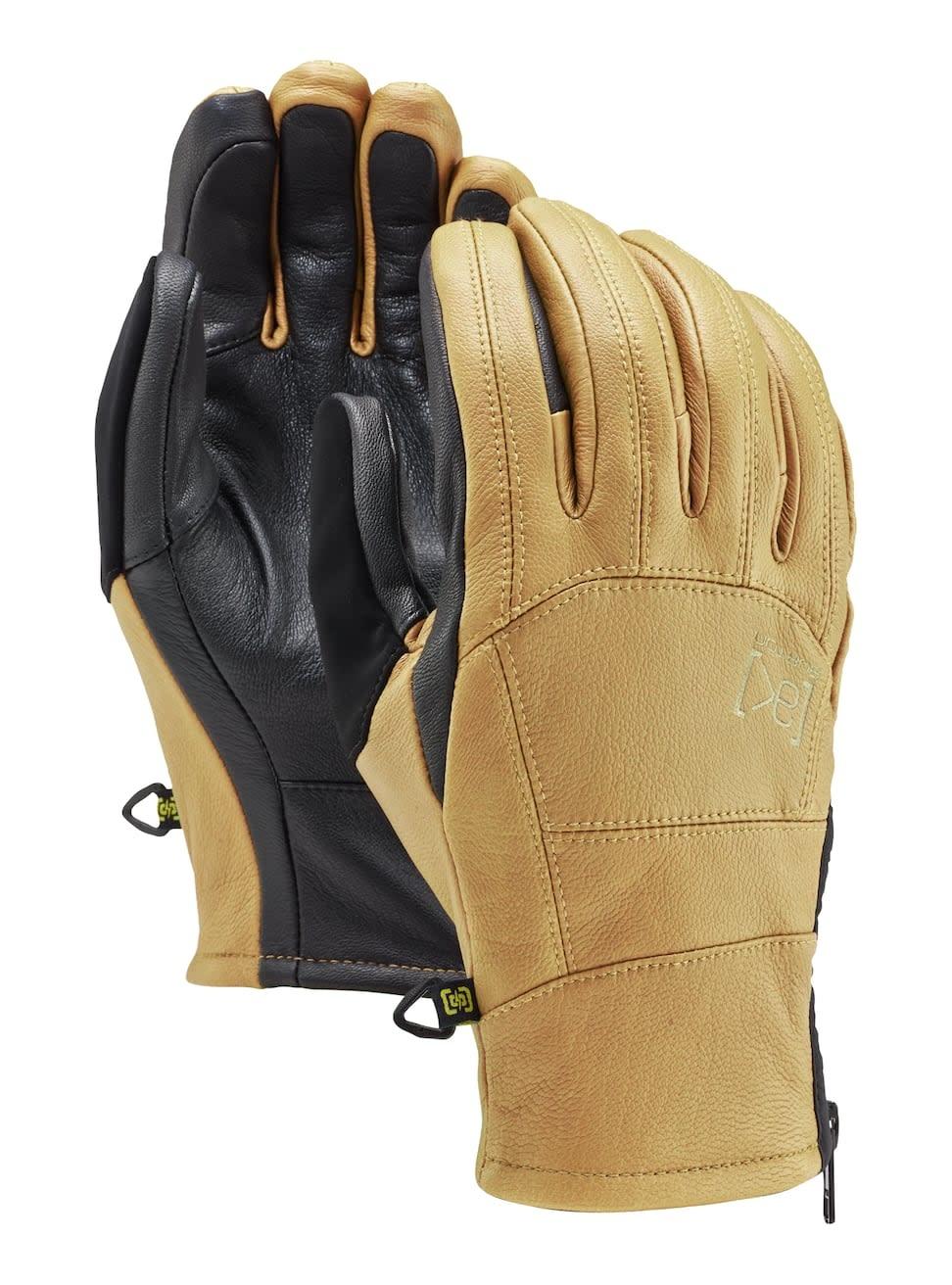 burton Snowboards Burton 2021 Leather Tech Glove - Raw Hide -