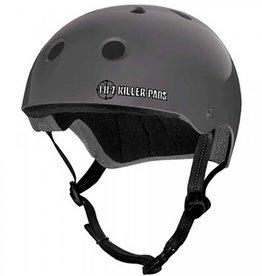 187 Killer Pads 187 Killer Pads Pro Skate Helmet Matte Charcoal - Large