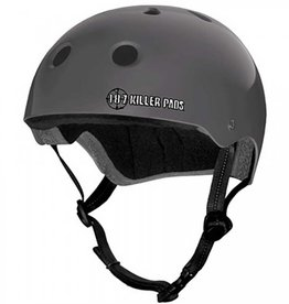 187 Killer Pads 187 Killer Pads Pro Skate Helmet Matte Charcoal - Small