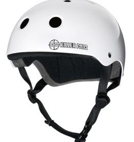 187 Killer Pads 187 Killer Pads Pro Skate Helmet Gloss White - Medium