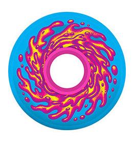 Santa Cruz Skateboards Santa Cruz - OG Slime Balls Wheels Blue Pink 60mm 78a (set of 4)