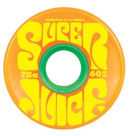 OJ Wheels OJ Super Juice Wheels Citrus 60mm 78a (set of 4)