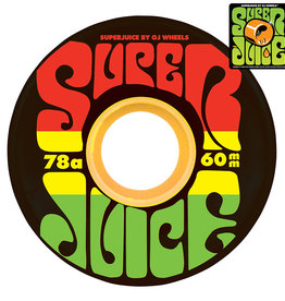 OJ Wheels OJ Super Juice Wheels Jamaica 60mm 78a (set of 4)
