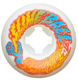 Slime Balls Slime Balls Vomit Mini White Orange Wheels 53mm 97a (Set of 4)